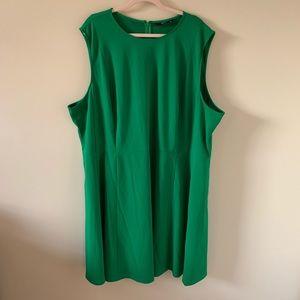 Eshakti green sleeveless / tank dress #338